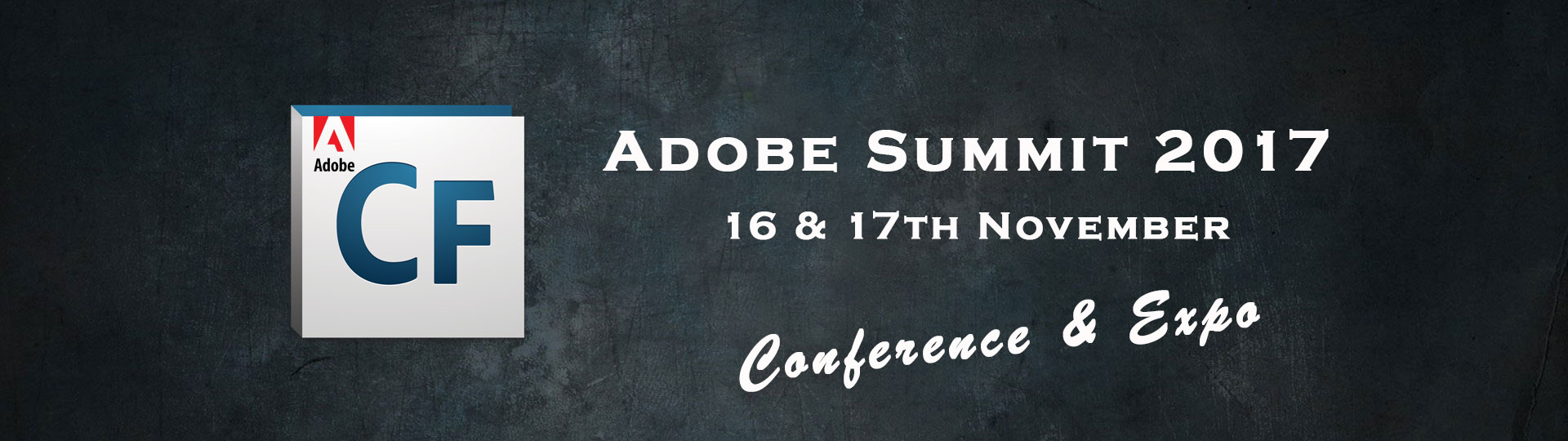 Adobe ColdFusion Summit 2017